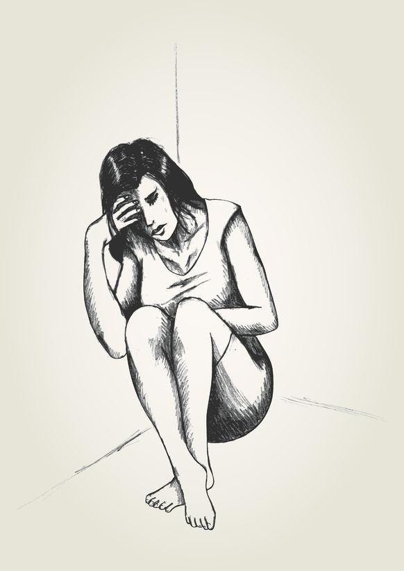 powerless woman